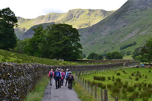 Photo Gallery. The last of our three days in Patterdale. Walking Patterdale to Grisedale Tarn.